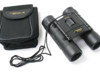 BSA 10x25mm Rugged Binoculars, Roof Prism, Center Focus