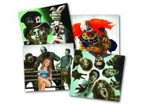 Crosman Zombie Targets, 4 Different Images, 20ct