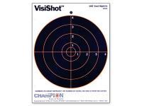 Champion VisiShot Paper Targets, 8 inch Bulls, 8.5x11 - 10pk