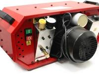 Air Venturi Liquid-Cooled Air Compressor, Club Model, Heavy-Duty Cooling System, Red