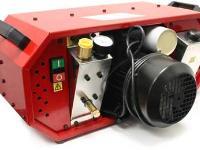 Air Venturi Liquid-Cooled Air Compressor, Club Model, Heavy-Duty Cooling System, Red