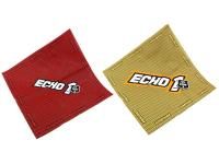 Echo1 USA Airsoft Kill Rag, 24 inchx24 inch, Red or Tan