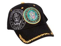 Tactical Crusader Fully Licensed Army Cap, Black