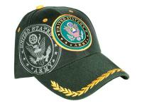 Tactical Crusader Fully Licensed Army Cap, Green