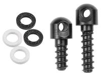 GrovTec Wood Screw & Swivel Studs, 1/2 inch & 3/4 inch Studs & 4 Spacers