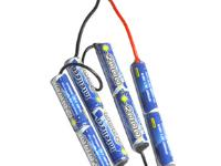 Intellect 9.6V 2000mAh Stagger Butterfly Battery
