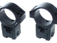 Leapers Space Age 30mm Rings, High, 11mm Dovetail, See-Thru
