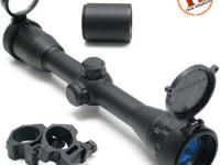 UTG Leapers Golden Image 4X32 AO Rifle Scope, Mil-Dot Reticle, 1 inch Tube, Weaver Rings