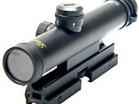 Leapers 4x28 Mini Size AR-15 Scope with Bullet Drop Compensator