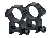 UTG Leapers 30mm Rings, High, Weaver Mount, See-Thru