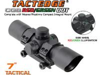 Leapers Golden Image 30mm Tactedge CQB Dot Sight, Red/Green Dot, Weaver Mount