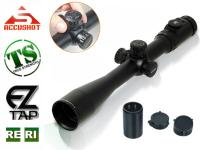 Leapers Accushot 3-12x44AO SWAT Rifle Scope, Illuminated Mil-Dot Reticle, 1/8 MOA, 30mm Tube