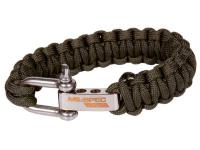 JAG Precision Mil-Spec Cobra Paracord Bracelet, OD Green, 7 inch