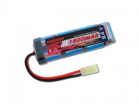 Intellect Tenergy 8.4v 1600mAh Flat NiMH Airsoft Battery Pack