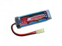 Intellect Tenergy 8.4v 1600mAh Flat NiMH Airsoft Battery Pack