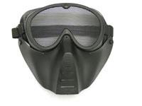 TSD Airsoft Face Mask, Black