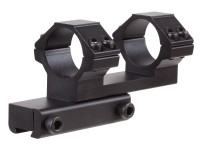 UTG Leapers Accushot 1-Pc Offset Mount w/1 inch Rings, Weaver/Picatinny Mount