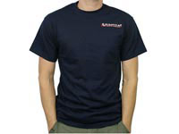 Pyramyd Air T-Shirt, Size Large, Navy