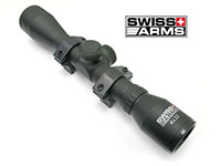 Swiss Arms 4x32 rifle scope with weaver/picatinny rings