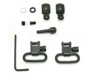 GrovTec Swivel Set, Wood Screws, Fits Some Lever-Action & Tube-Mag Rifles & Carbines, 1 inch Loops, Black Oxide