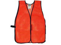 Radians Radwear Safety Vest, Mesh, Hi-Viz Orange