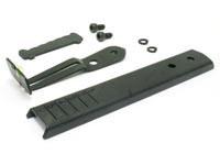 Mendoza Rear Blade Sight Kit with Fiber Optic