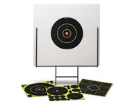 Birchwood Casey Portable Shooting Range, Steel Frame + 39 Shoot-N-C Targets