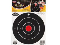 Birchwood Casey Dirty Bird Bullseye Targets, 8 inch Round, 25ct