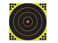 Birchwood Casey Shoot-N-C Bullseye Targets, 12 inch, 5 Targets + 120 Pasters