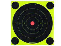 Birchwood Casey Shoot-N-C Targets, 8 inch Bullseye, 30 Targets + 120 Pasters