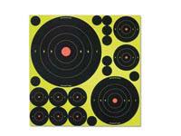 Birchwood Casey Shoot-N-C Variety Pack, 50 Bullseye Targets + 50 Pasters
