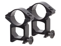 TSD JBU 1 inch Rings, High, Weaver Mount, See-Thru