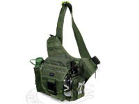 UTG Multi-Functional Tactical Messenger Bag, OD Green