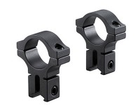 BKL 30mm Rings, 3/8 inch or 11mm Dovetail, Matte Black