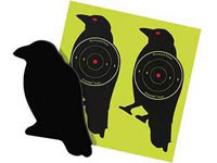 Beeman Sharpshooter Corrugated Plastic Crow Targets, 7.5 inch, 3 inch Bullseye, 6ct
