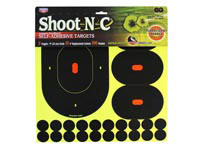 Birchwood Casey Shoot-N-C 9 inch Targets, 3 inch Replacement Centers, 100 Pasters, 120ct