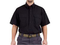 5.11 Tactical Short Sleeve Cotton Shirt, Black, Medium