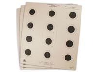 National Target Company National Target Air Rifle Target, 12 Bullseye, 100 ct