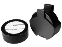 Air Venturi Pellet Holster, Attaches to Belt, 2 Foam-Lined Pellet Tins, 4 Paper Labels