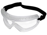Radians Barricade Goggles, Clear, Anti-Fog