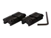 Hawke Sport Optics 2-Pc Adapter, 3/8 inch to Weaver Rail
