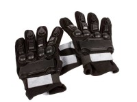 Air Venturi Full Armor Full-Finger Airsoft Gloves, Large