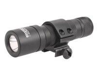 Swiss Arms Tactical Flashlight, Remote Switch & Mount Ring, Black