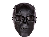 Bravo Tactical Full Face Skull Mask, Black