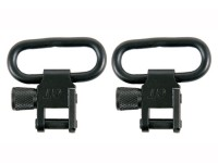 GrovTec Locking Swivels, 1 inch Loop, Black