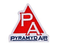 "Pyramyd Air Logo Patch, Velcro Back, 3""x3"""