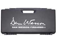 ASG Dan Wesson Revolver Case With Logo, Plastic, Black, 3.3 inchx9 inchx18 inch