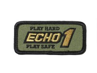 Echo1 USA Airsoft Echo1 Square Patch, OD Green