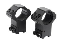 Hawke Sport Optics 1 inch Rings, 11mm Dovetail, High, Black