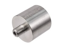Air Venturi Female DIN Adapter, 1/8 inch Male BSPP Threads, Stainless Steel